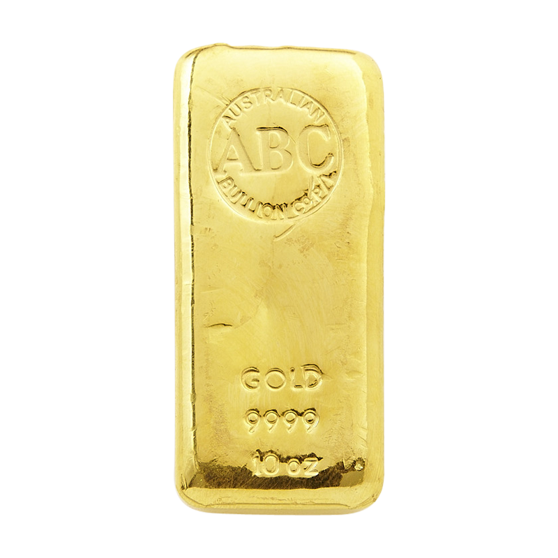 The Abc Bullion 10 Ounce Gold Cast Bar Is Largest
