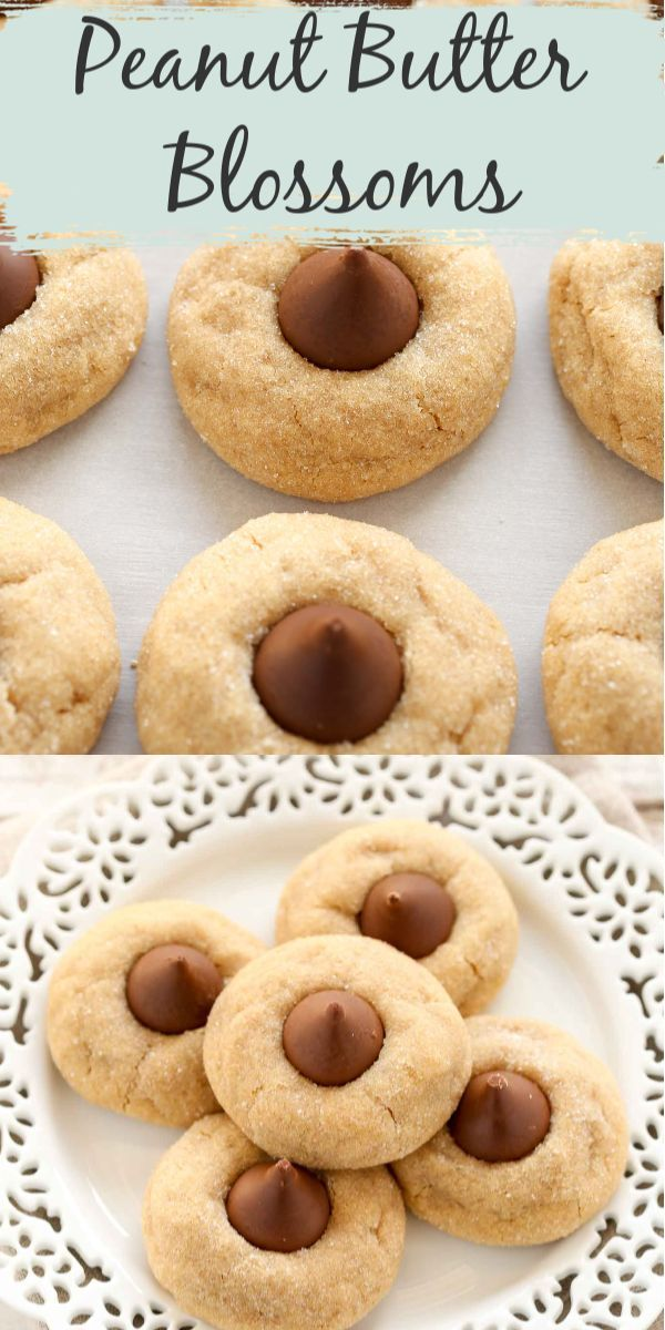 Classic Peanut Butter Blossoms