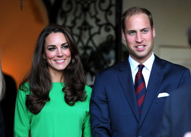 Catherine, Duchess of Cambridge, and Prince William, Duke of Cambridge, attend a private reception at the British Consul-General's residence on July 8, 2011 in Los Angeles, Calif.