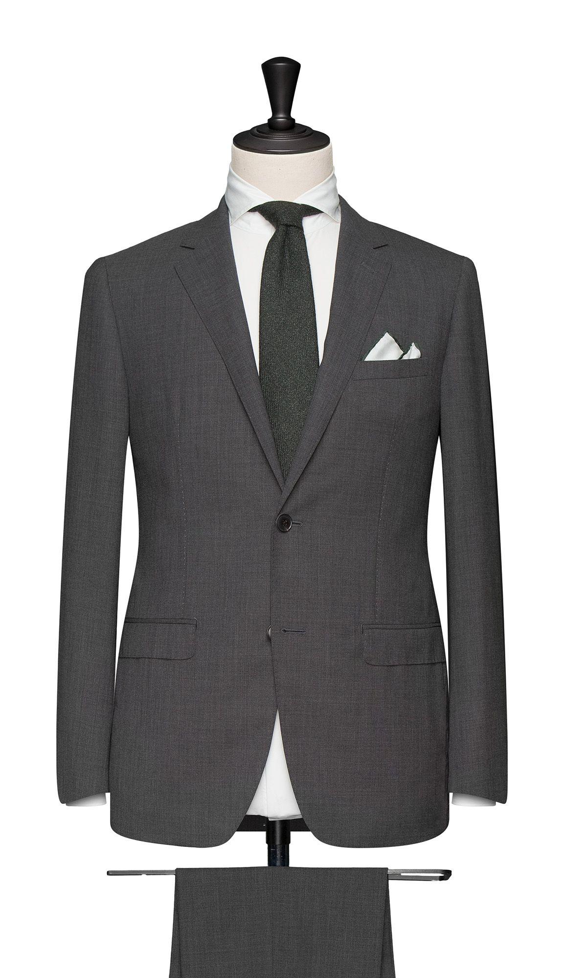 6836b0530 Medium Grey High Twisted Lightweight Tropical. Cloth Weight  240 gram  Composition  100% Wool