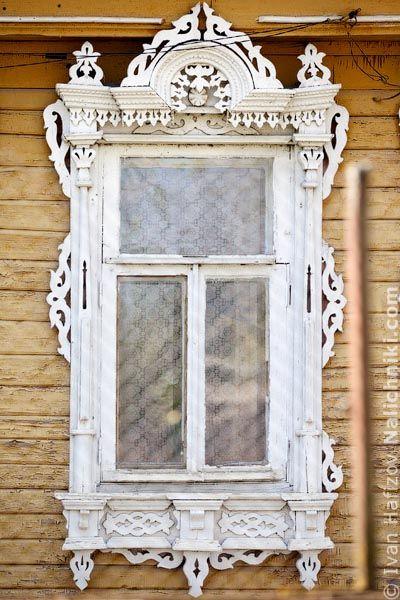 Traditional window frame (Nalichnik) from Egoryevsk, near Moscow, Russia #4
