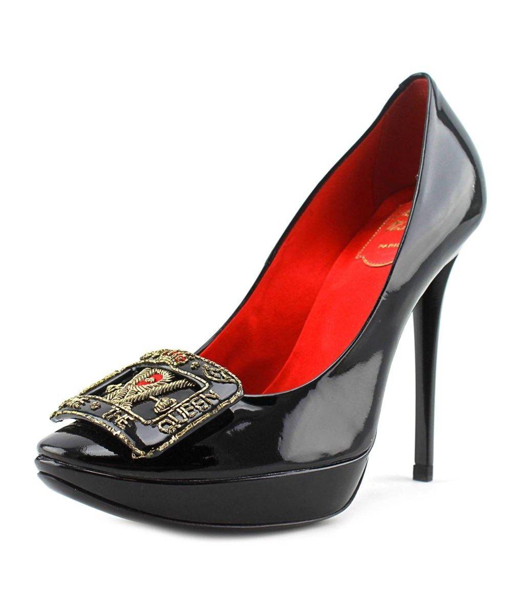 d9a665322f ROGER VIVIER Roger Vivier Dec. God Save The Queen Open Toe Patent Leather  Platform Heel'. #rogervivier #shoes #pumps & high heels