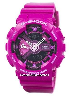 6a5993a9d5e7b Casio G-Shock S Series Analog-Digital World Time GMA-S110MP-4A3 Women s  Watch