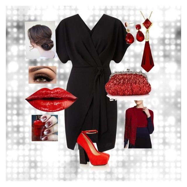 """Little Black Dress"" by saba121167 on Polyvore featuring Miss Selfridge, Aperlaï, Liz Claiborne, Chicnova Fashion and RAJ"