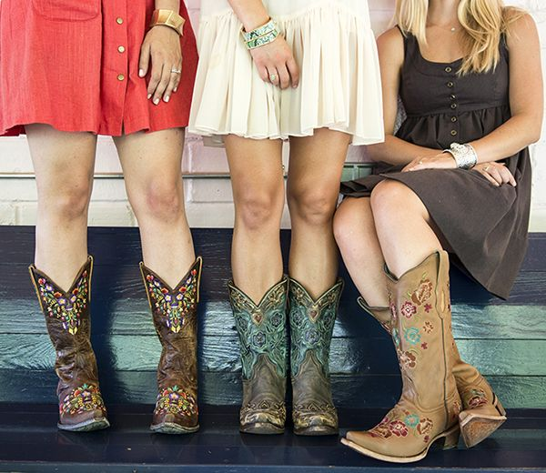 How to Wear Dresses with Cowboy Boots | I might wear that ...