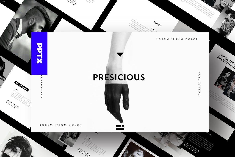 Portofolio Agency - Powerpoint by dirtylinestudio on Envato Elements