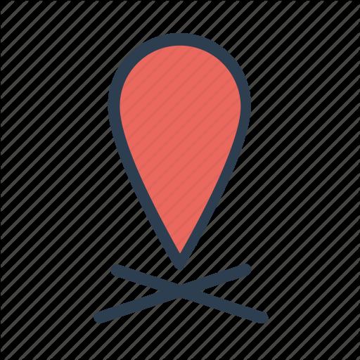 Flat location logo by lyuyhn Map logo, Map, Apple maps