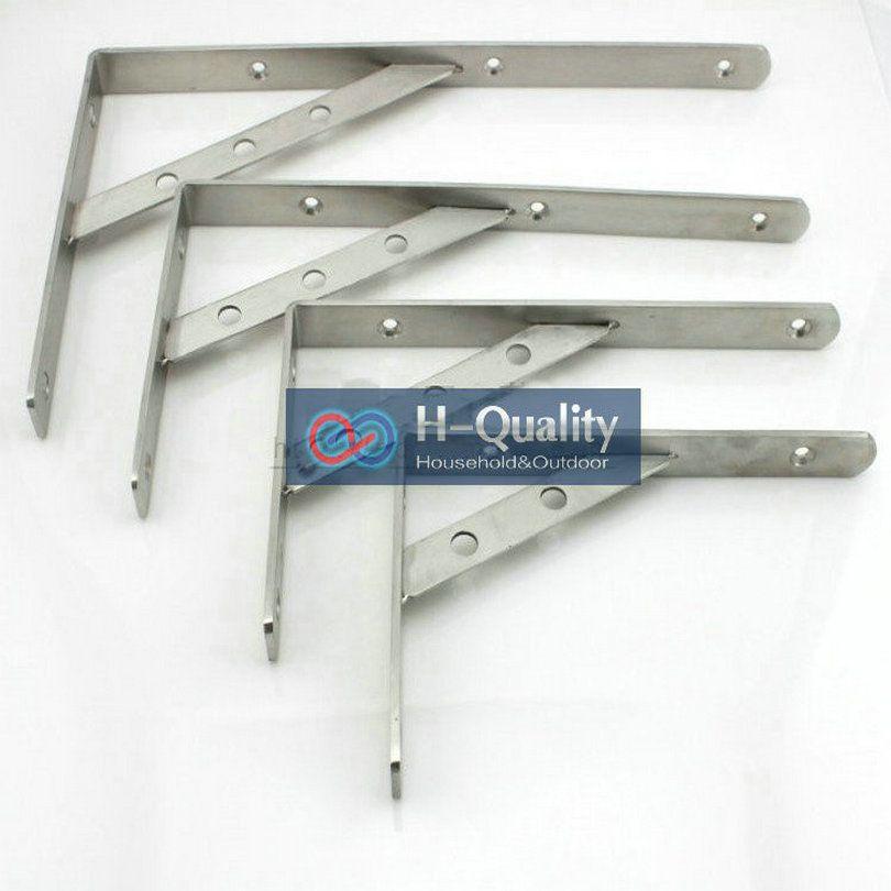 200X350MM AISI304 Stainless Steel Shelf Holder Bracket