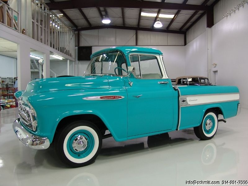 Daniel Schmitt Co Classic Car Gallery Presents 1957 Chevrolet Cameo Pickup 1957 Chevrolet Chevrolet Classic Chevy Trucks
