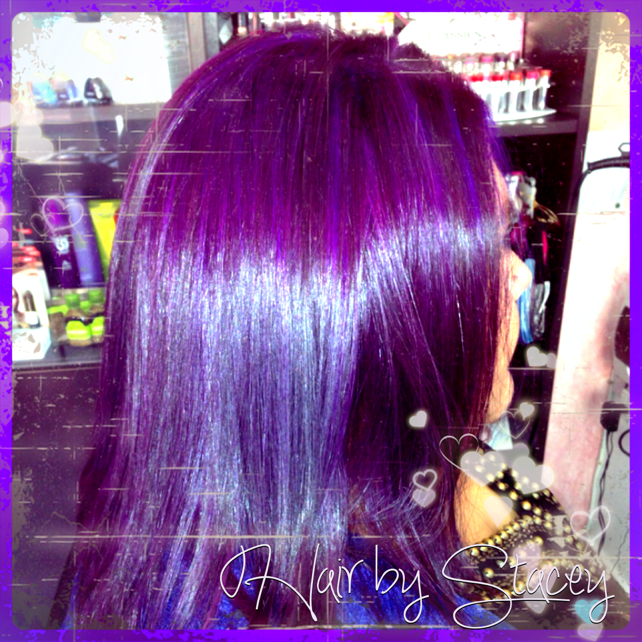 Plum hair <3 La Riche Directions https://www.facebook.com/hair.stacey