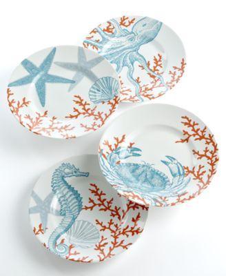 Beautiful Coastal Dinnerware On Sale At Macy S Dinnerware