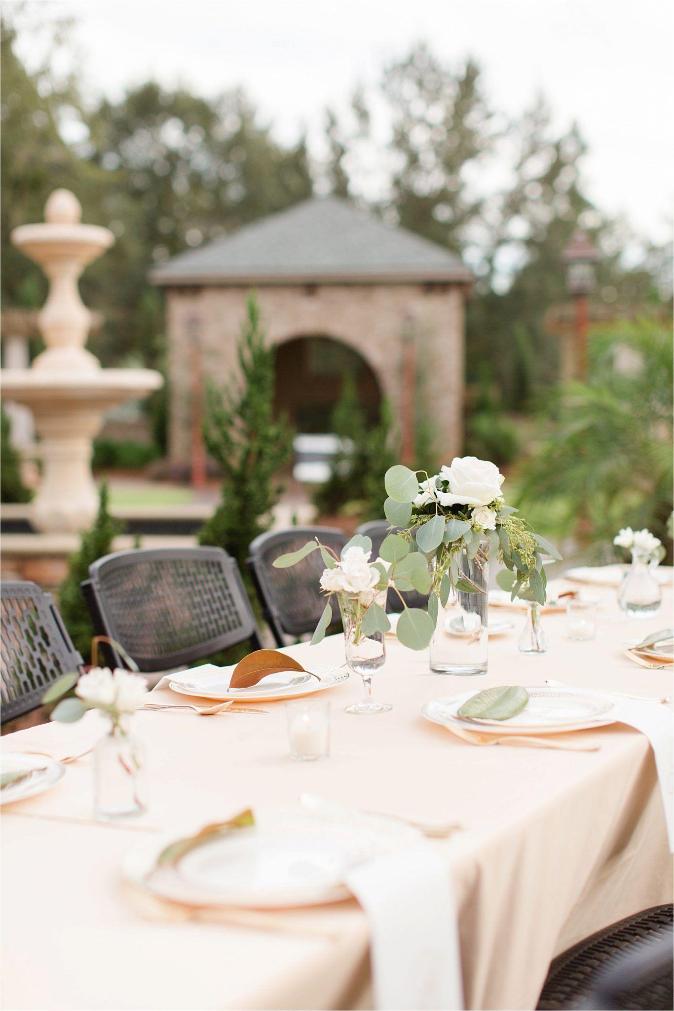 Our Rehearsal Dinner At Bella Sera Gardens Wedding Venues