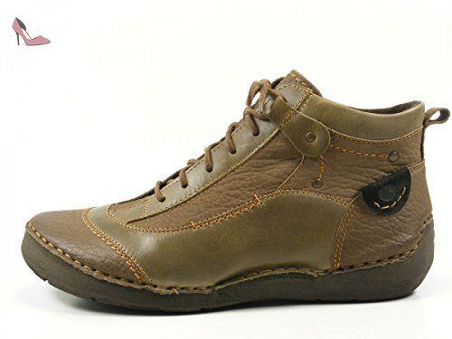 Josef Seibel 14520JE994 - Zapatos con Cordones para Hombre, Color Marrón (Castagne/Moro 176), Talla 41 EU