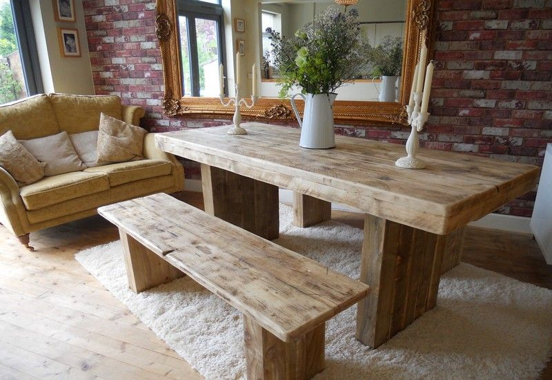 Rustic Table Ireland Bench