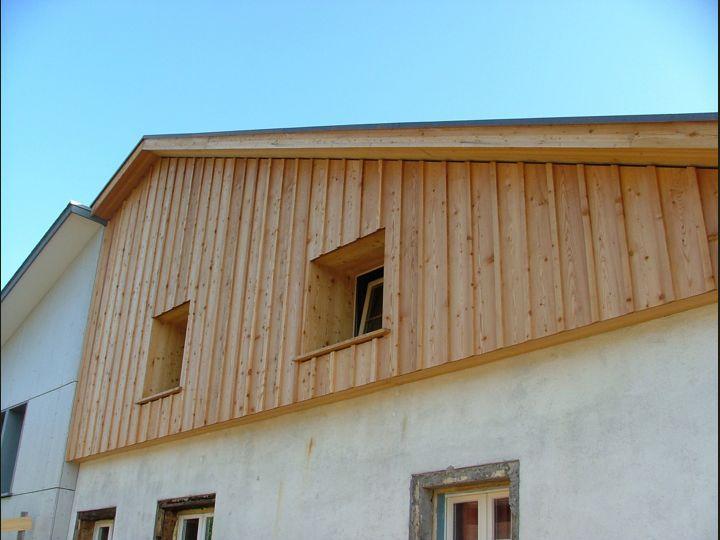 Bildergebnis Fur Holzfassade Aufbau Holzschalung Details Holz