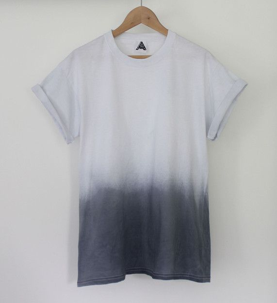 ANDCLOTHING — Night Fade Dip Dye Tee