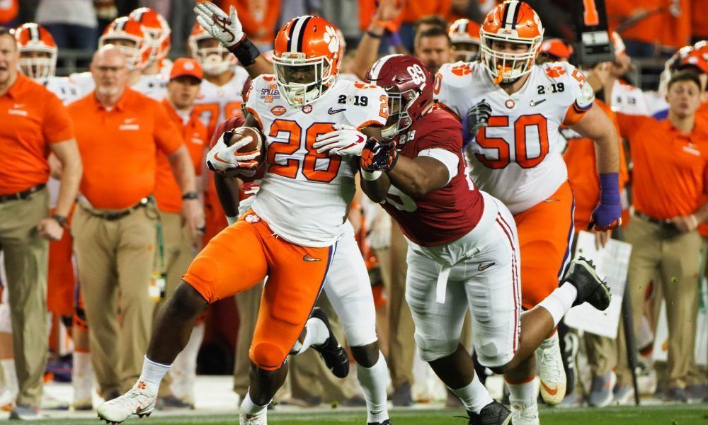 Could a RB add more intrigue to AlabamaClemson rivalry