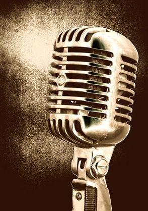 Old School Microphone Vintage Microphone Microphone Singing