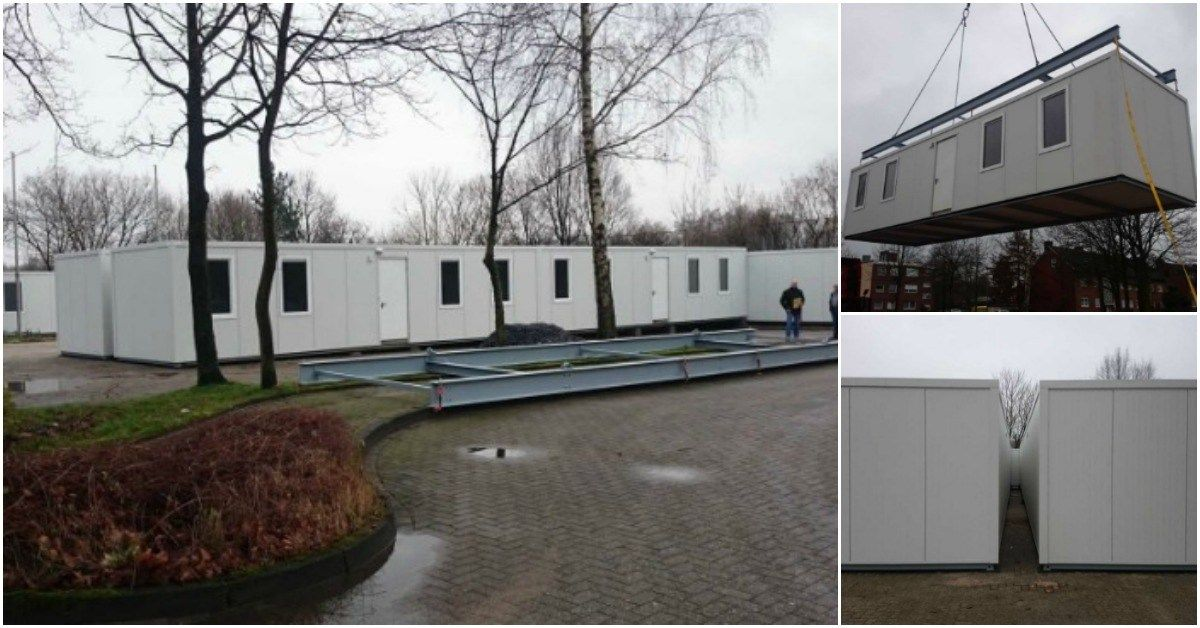 Shipping Container Tiny Houses Are Making A Difference For Refugees In Germany Home Builders