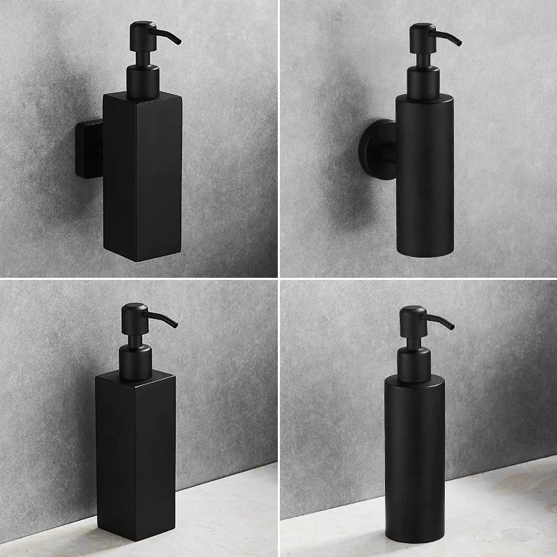 Matte Black Stainless Steel Liquid Soap Dispenser For Bathroom Basin Or Kitchen Sink House Boutiqu Bathroom Soap Dispenser Soap Dispenser Wall Soap Dispenser