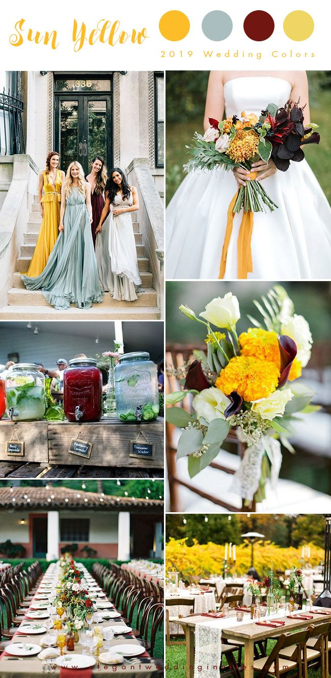 Top 10 Wedding Color Trends We Expect to See in 2020