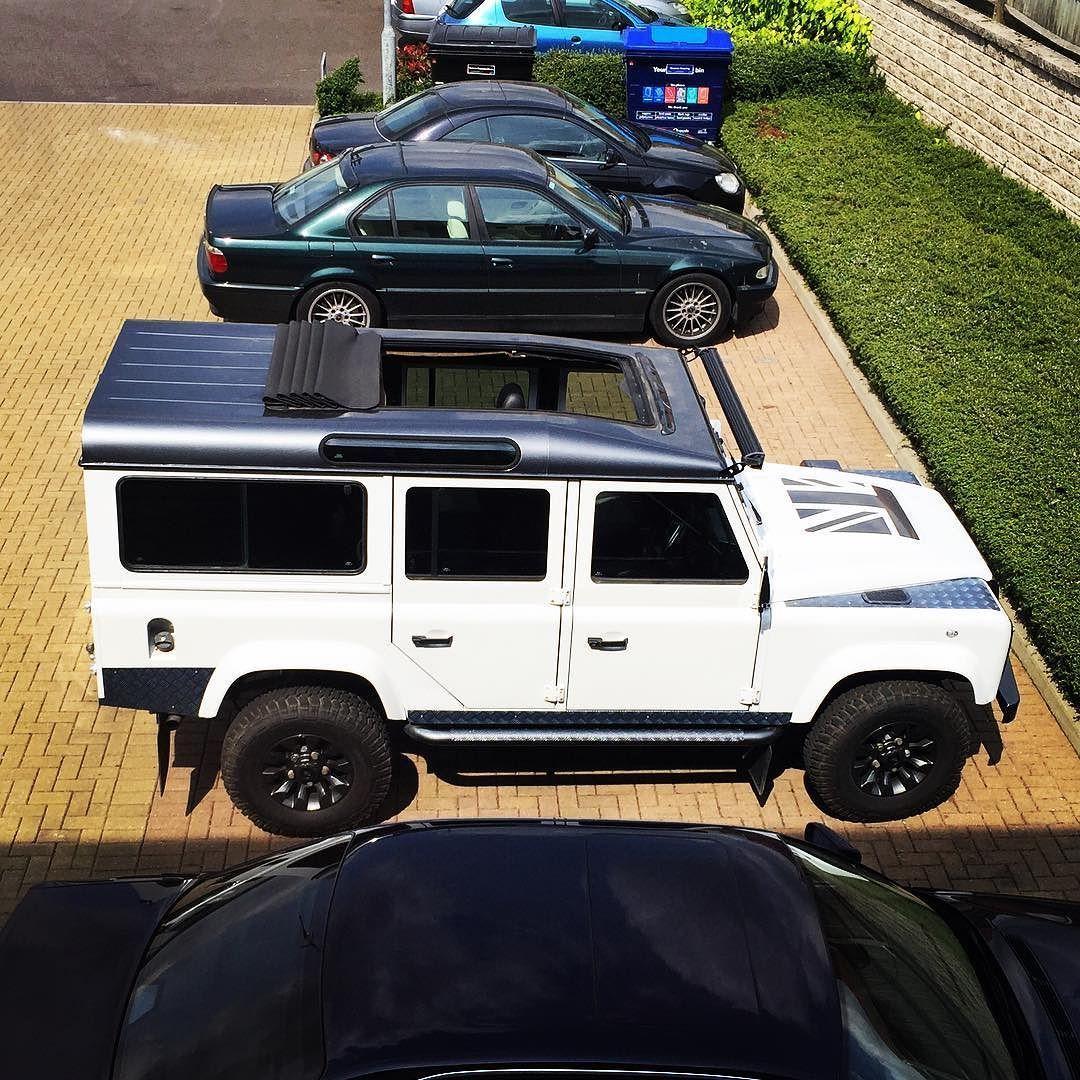 Sun S Out Roof Open Landrover Landroverdefender Defender Defender110 Bmw7series Londoncars Blacklist B Land Rover Land Rover Defender Range Rover Sport