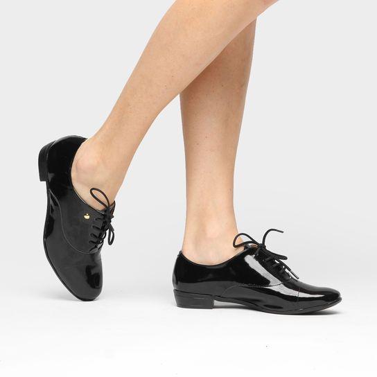 f7da97844 Oxford Vizzano Básico - Preto Sapatos Oxford Femininos, Sapatos Femininos,  Oxford Feminino Preto,