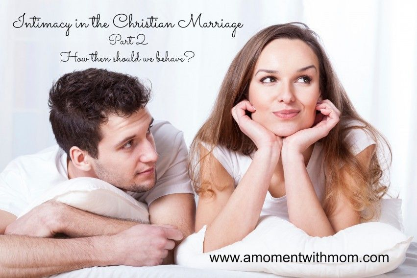 in Anal sex christian marriage