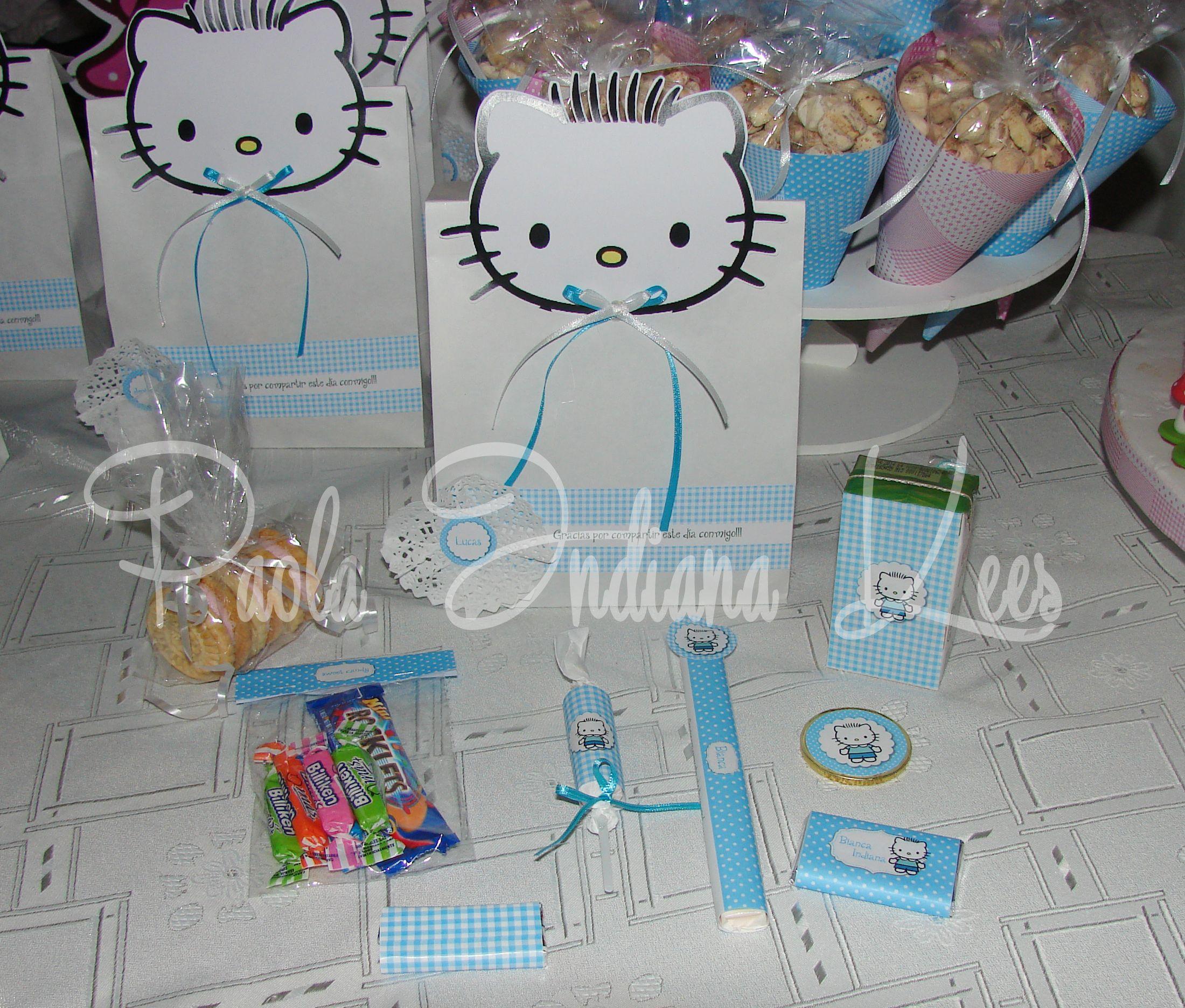 #Bolsita de #papel + #golosinas personalizadas con #dear Daniel