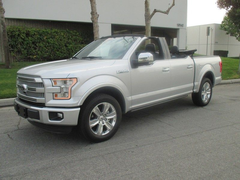 Newport Convertible Engineering Shows Off Their Drop Top 2017 F150
