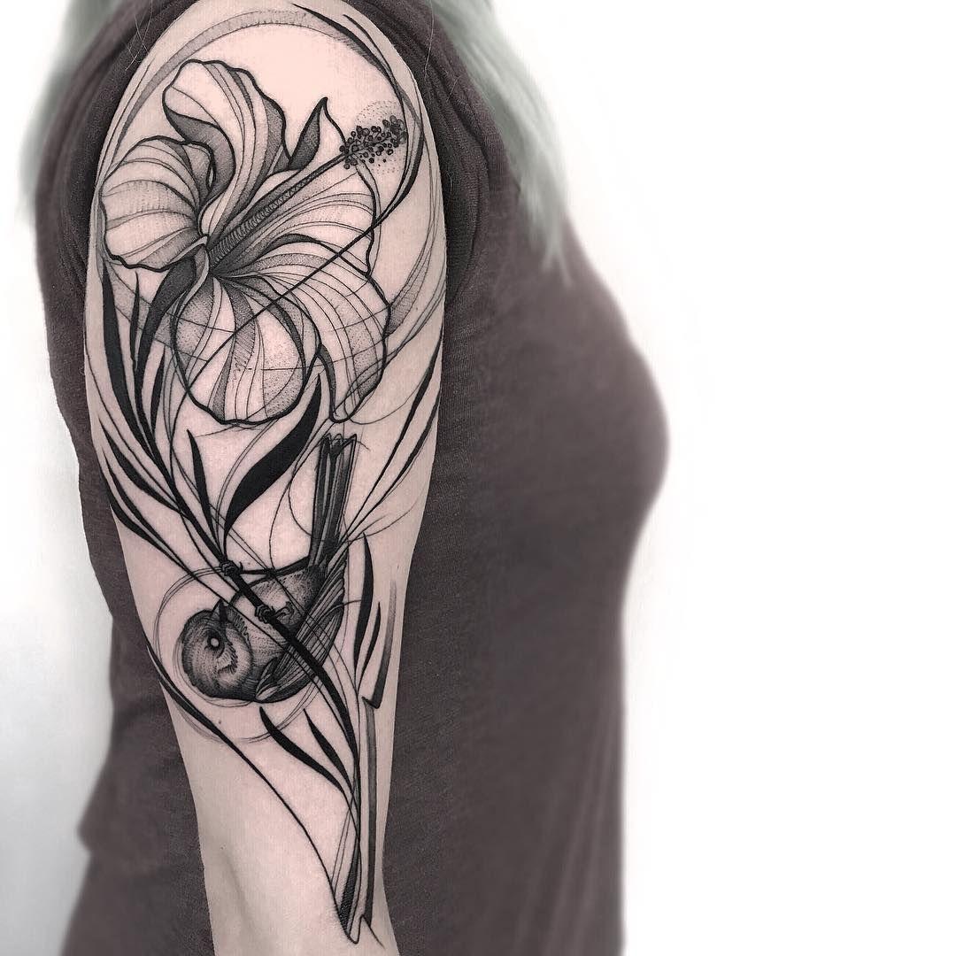 motiv lexikon sketch style tattoos tattoo skizzen. Black Bedroom Furniture Sets. Home Design Ideas