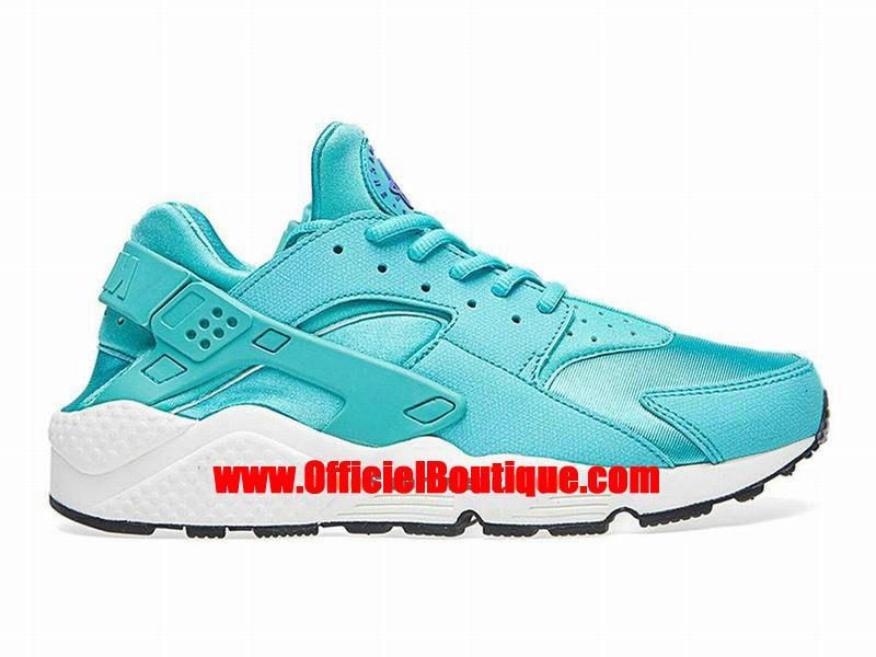 new style 18c61 c7147 Chaussure Nike Sportswear Pas Cher Pour Femme Officiel Nike Wmns Air  Huarache GS Vert Blanc 634835-401