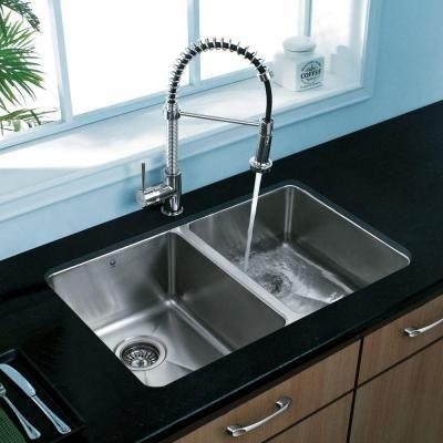 29 Inch White Undermount Kitchen Sink