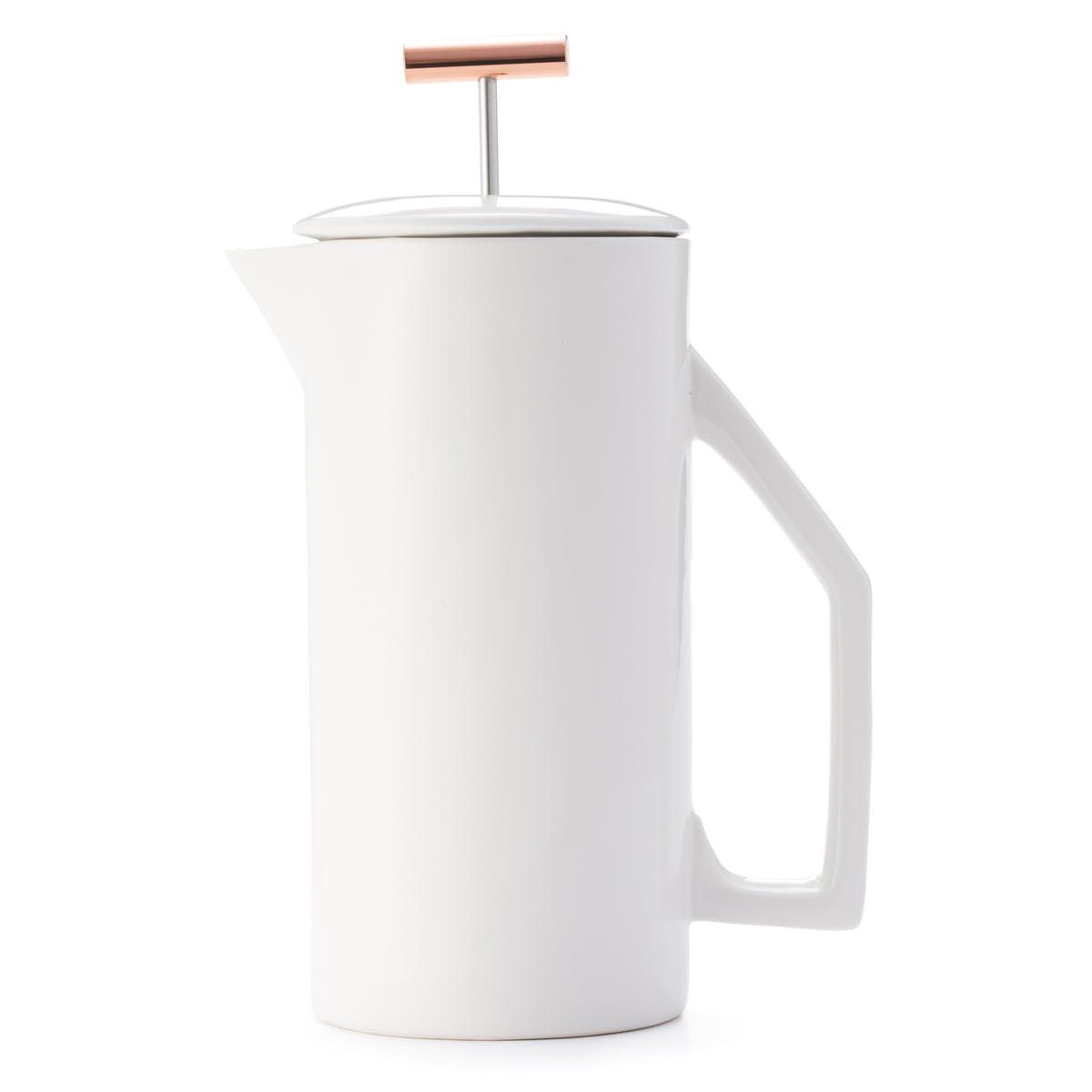 Ceramic french press 850ml coffee snobs ceramics