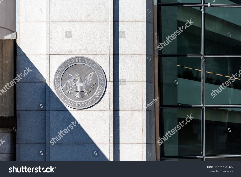 Washington Dc Usa October 12 2018 Us United States Securities
