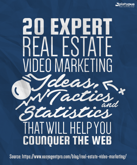 Need more qualified real estate leads? Here are 20 ways you can use #realestate video marketing to your advantage!