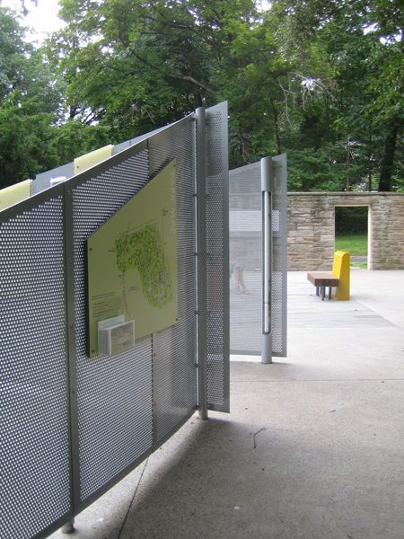 Hendrick Arch Products a possible source for courtyard screens