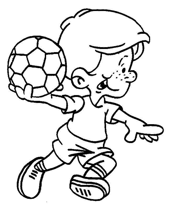 Disegni da colorare per bambini Colorare e stampa Sportivo 51