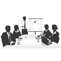 Meeting フリーイラスト素材 イラスト ビジネス 会議 ミーティング