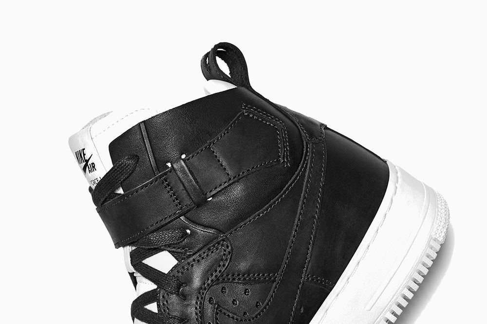 NikeLab - Air Force 1 Hi CMFT Tech Craft SP - Black  e822820e91