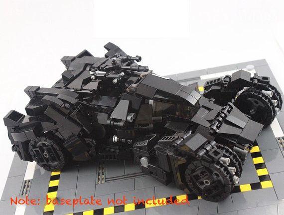 Bat Mobile MOC LEGO Arkham Knight Batman Batmobile Transformable ...