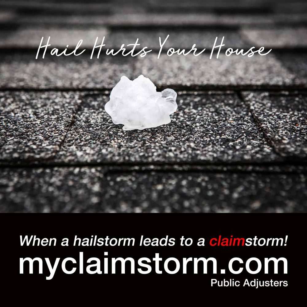 Hail Damage Can Be Costly Roof Damage Hail Leaking Roof