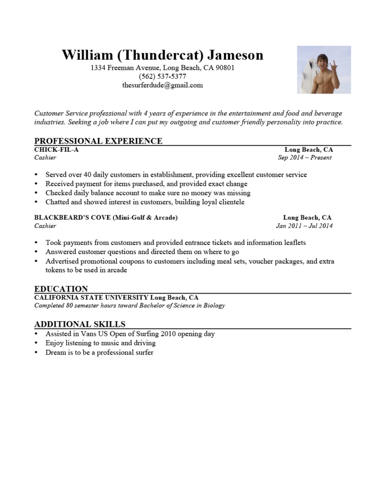 The 6 Second Resume Challenge Answers Keep Or Trash Rg Resume How To Be Outgoing No Experience Jobs
