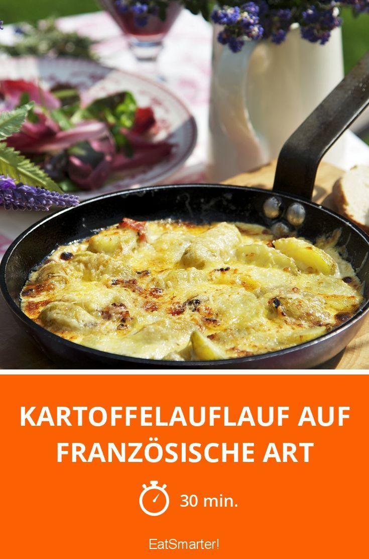 Kartoffelauflauf Auf Franzosische Art Rezept Kartoffelauflauf Rezepte Essen