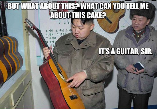 Funniest Kim Jong-un Memes: What Can You Tell Me About This Cake?