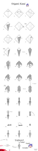 Macam Macam Origami Naruto Origami Anime Crafts