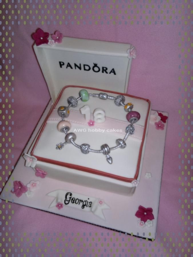 how to make a pandora cake