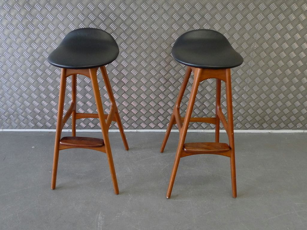 Mid Century Counter Stools Part - 23: Potential Bar Stools - Eric Buck Mid Century Modern Counter Height Stools