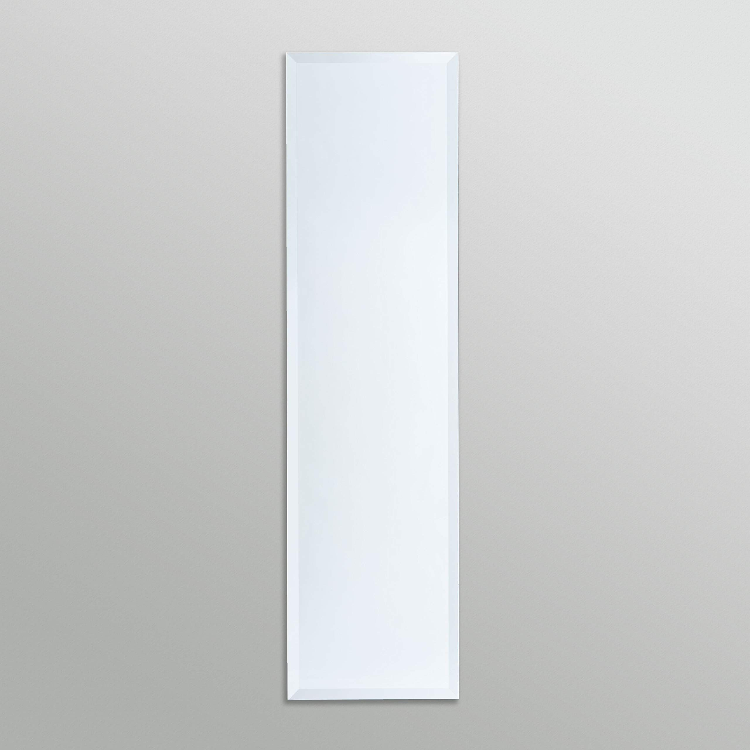 Classic Design This Simple Yet Sophisticated Full Length Beveled Rectangle Wall Mirror Is A Highly Versatile Design Measu Mirror Wall Mirror Rectangle Mirror