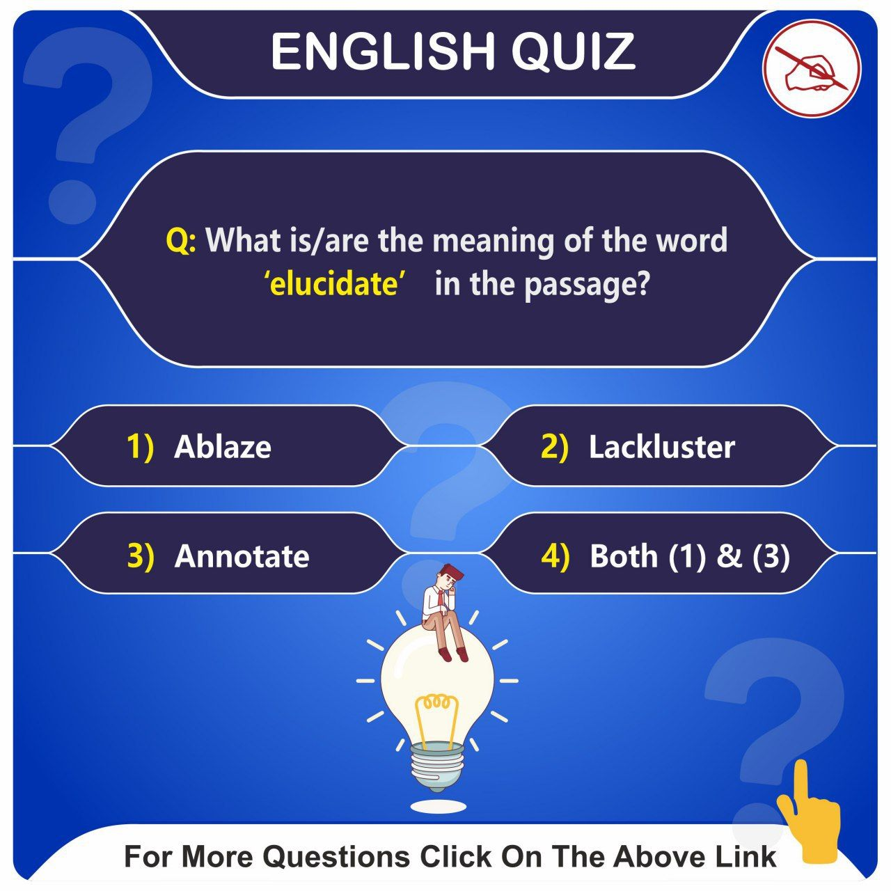 Stay Updated With English Quiz Click On The Link For More